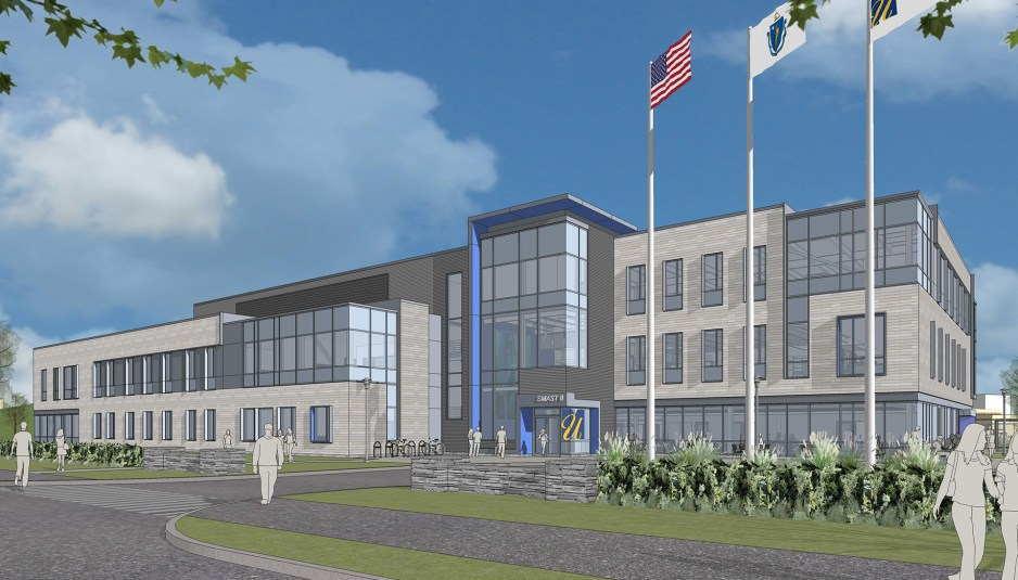 Bond celebrates groundbreaking of new school for marine for Umass dartmouth architecture 666