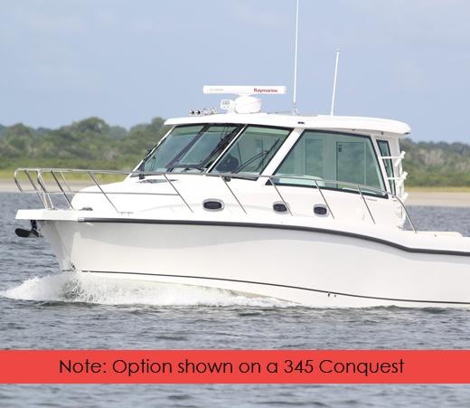 345 Conquest Boat Model Boston Whaler