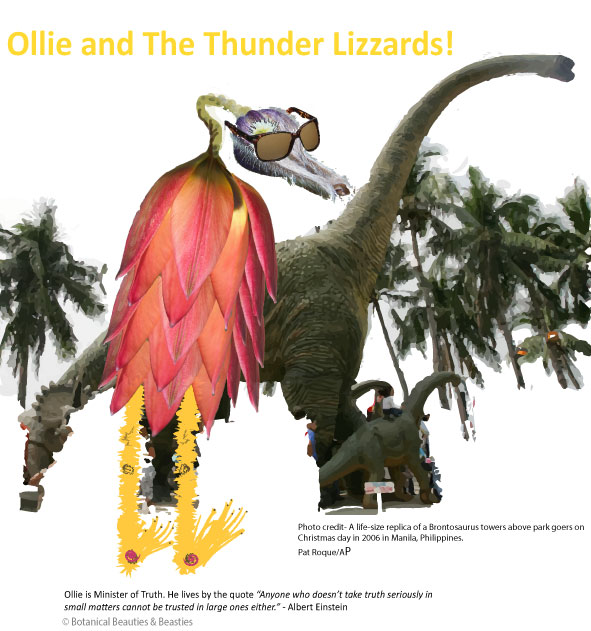 Ollie and The Thunder Lizzard