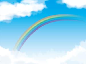 rainbow,虹