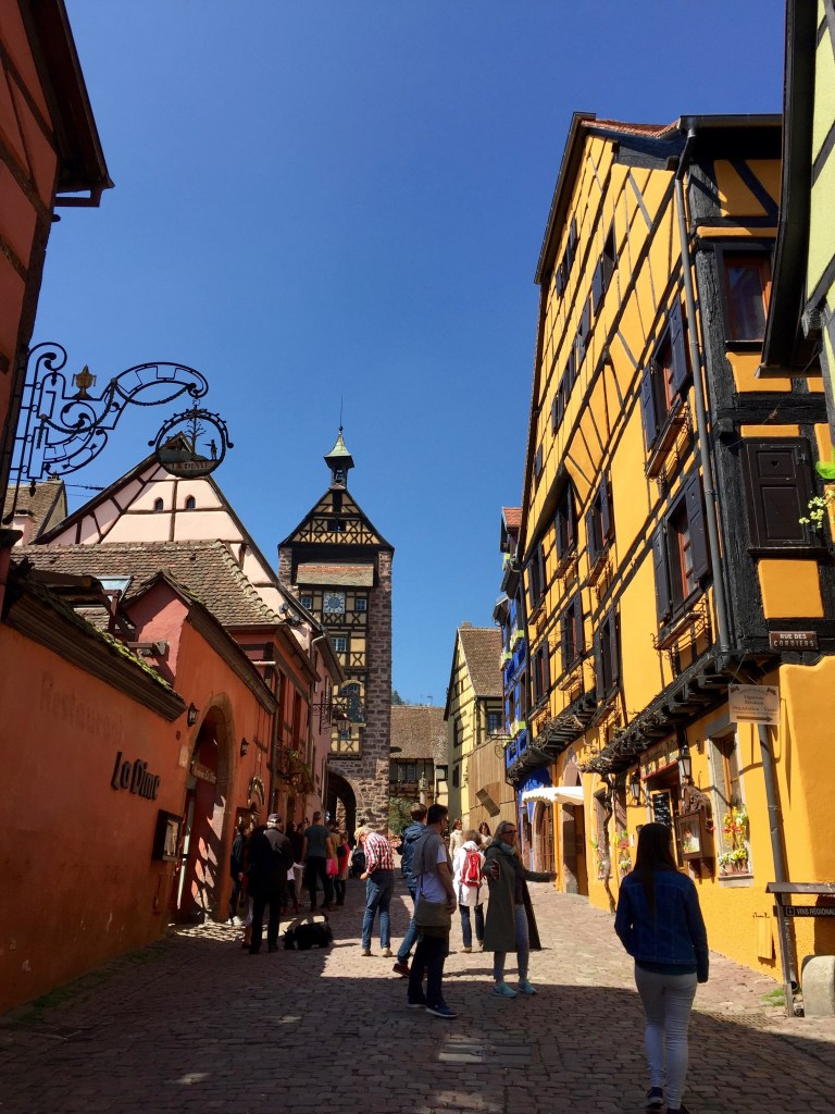 Side streets of Riquewihr