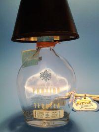 Partide Tequila Liquor Bottle Table Lamp W/ Black Shade ...