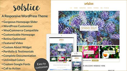 Solstice Responsive WordPress Theme » Bottomless Design » All