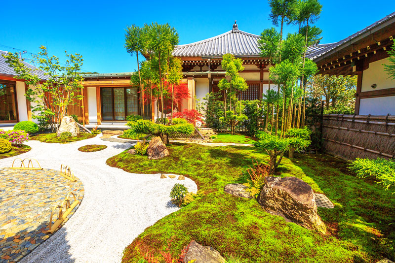 Jardin Zen Miniature, des bienfaits contre le stress ? \u2022 Bouddhisme - Jardin Japonais Chez Soi