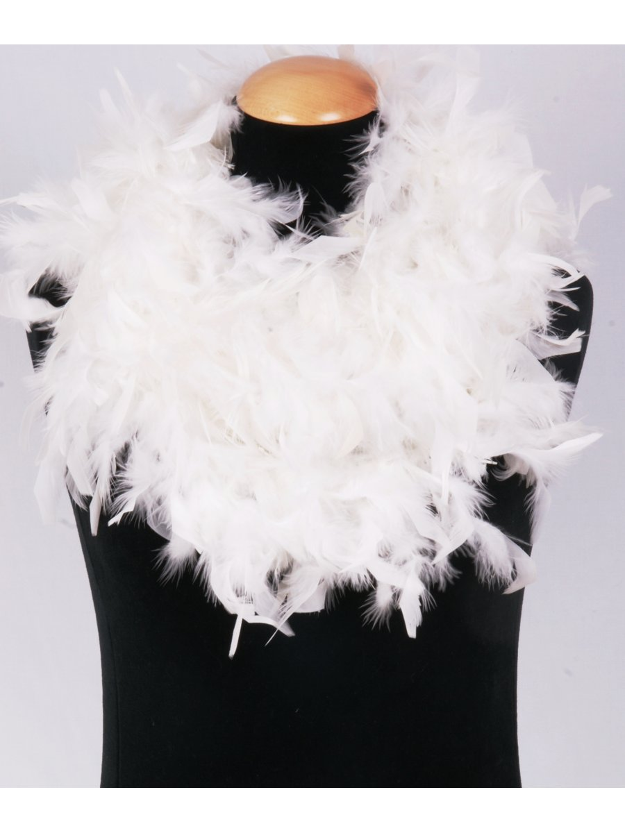 Boa Kopen White Feather Boa