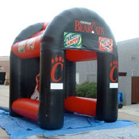 Cincinnati BearCats Inflatable Football Pass