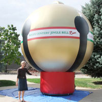 Inflatable Christmas Ornament