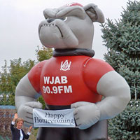 Bulldog Inflatable Mascot
