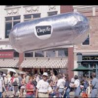 Chipotle Helium Burrito