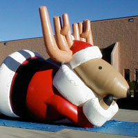 Inflatable Holiday Deer