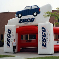 ESCO Inflatable Booth