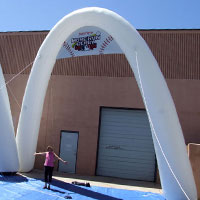 Home Run Derby Inflatable Arch