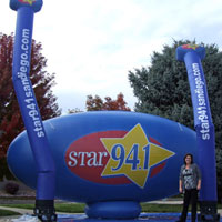 Radio Custom Inflatables