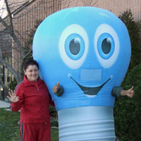K-Mart Inflatable Costume