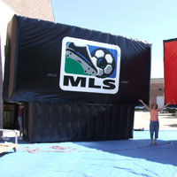Major League Soccer Inflatable Billboard