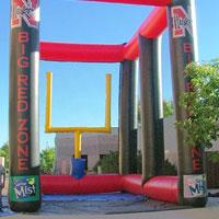 Nebraska Inflatable Football Kick