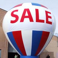 Hot Air Ballon Shape Inflatable
