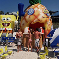 SpongeBob Inflatable Booth