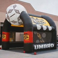 Umbro Inflatable Soccer Kick