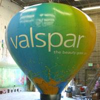 Valspar Hot Air Balloon Shape Inflatable