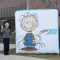 Pigpen Scotchguard Inflatable Billboard