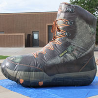 Rocky Camo Inflatable Boot