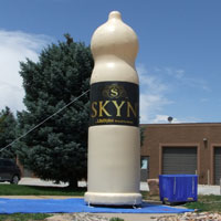 SKYN Condom Lifestyles Inflatable