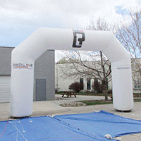 Redline Inflatable Arch