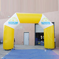Richmond Multisports Inflatable Arch
