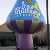 Giant Mellow Mushroom Restaurant Inflatable
