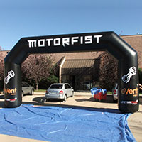 Motorfist Inflatable Arch
