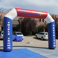 Triple Crown Fastpitch Inflatable Arch