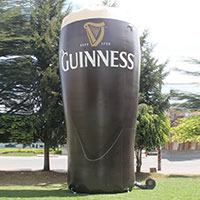 Guinness Inflatable Pint Glass