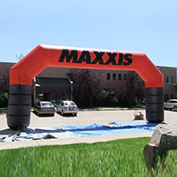 Maxxis Tires Inflatable Arch