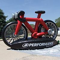 Performance Inflatable Bike
