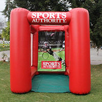 Sports Authority Inflatable Football Toss Game