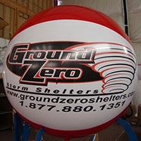 Ground Zero Helium Sphere