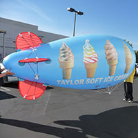 Taylor Soft Icecream Helium Blimp