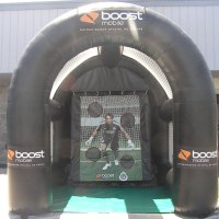 Boost Mobile Inflatable Soccer Kick