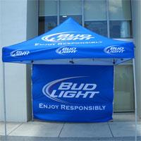 Bud Light Pop Up Tent