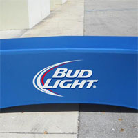 Bud Light Table Cover