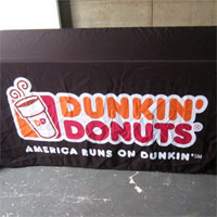 Dunkin' Donuts Table Cover