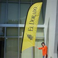 El Dorado Bow Flag Banner