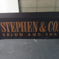 Stephen and Co Salon Table Cover