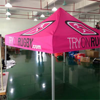 Try On Rugby Pop Up Tent
