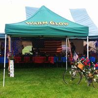 Warm Glow Pop Up Tent