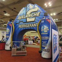 Avalanche Refrigerant Custom Inflatable Arch