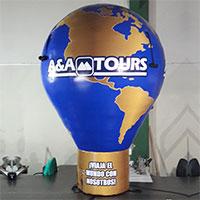 A&A Tours 10ft Hot Air Balloon Shape
