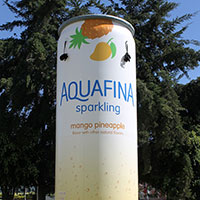 Aquafina Sparkling Mango Pineapple Can