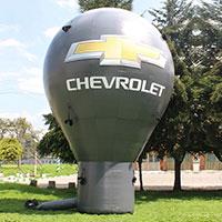 Chevrolet  24ft tall Hot Air Balloon Shape